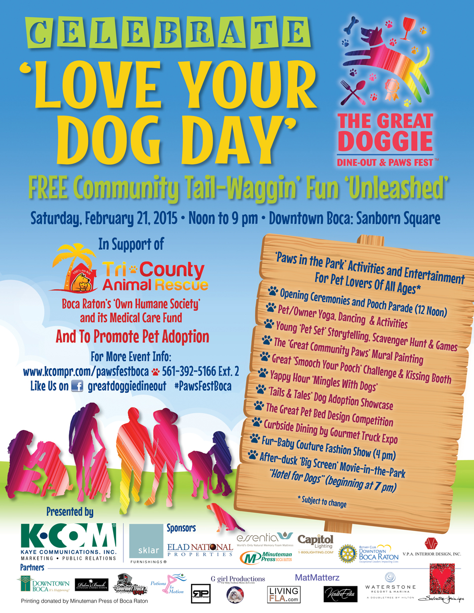 Doggie Event Flyer WP 960px